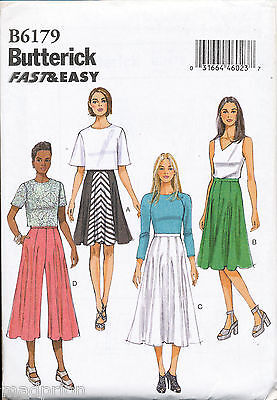 Butterick Sewing Pattern 6178 misses/'s Culottes