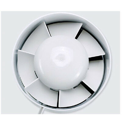 """6"""" Inch Duct Fan Exhaust Vent Air Cooled Hydroponic Inline Blower 320m3/hr"""