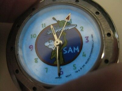 Dr. Seuss pocket watch SAM green beans and ham light-up works great