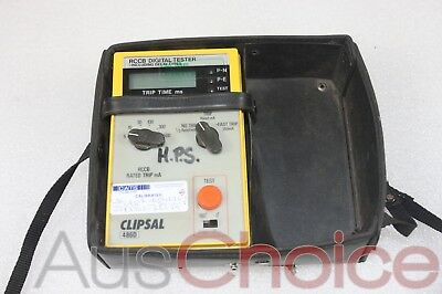 Clipsal 486D Digital RCD Tester - No Power Cable