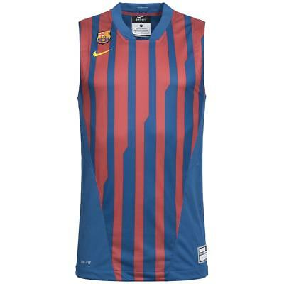 FC Barcelona Nike Herren Basketball Trikot Training Fan Jersey 428986 FCB neu