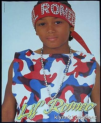 Lil Romeo 4 POSTERS Centerfolds Lot 1014A more Romeo on back