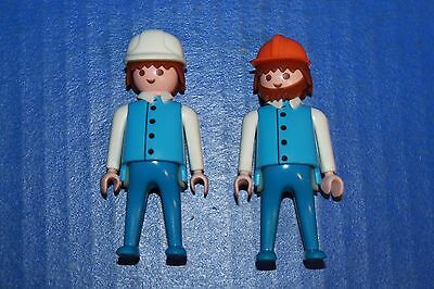 Playmobil Replacement Parts Figures 2 Construction Supervisors