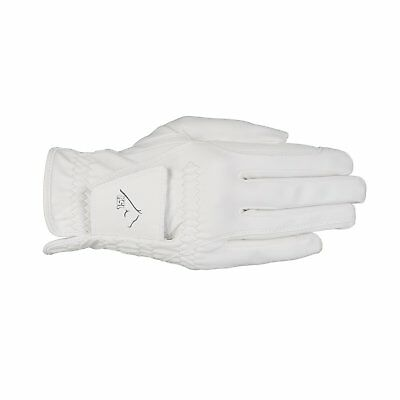 USG Riding Gloves AACHEN FROM Albarin - White - XS Gloves EQUITATION HORSE