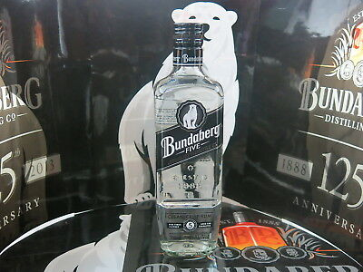 BUNDABERG RUM FIVE WHITE 1st Label Low Number 1785