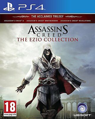 PS4 Spiel Assassin's Creed Ezio Collection AC 2 + Brotherhood + Revelations NEU