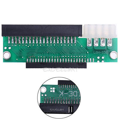 3.5 IDE Male to 2.5 IDE Female 44pin to 40pin Converter Adapter Card Hard Drive