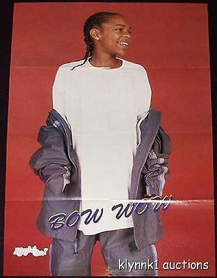 Bow Wow - 2 POSTERS Centerfolds Lot 206A Lil Romeo Master P IMX Romeo on back
