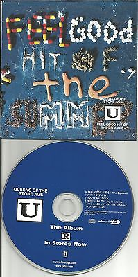 QUEENS OF THE STONE AGE Feel good hit 3 UNRELEASED TRX& VIDEO PROMO DJ CD single