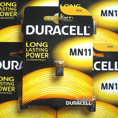 1 x Duracell 11A MN11 A11 CX21A L1016 E11A 6v Alkaline Battery Use By Date 2020