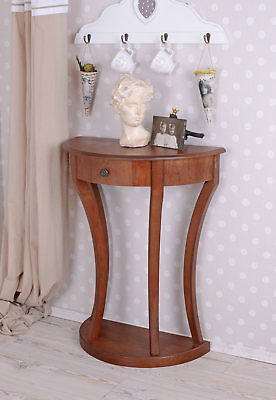 Console Table Wooden Table Antique Wall Table Side Table Biedermeier Style Table