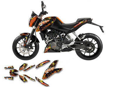 KTM DUKE 125 / 200 (2011-2017) | SM DEKOR DECAL KIT Aufkleber Sticker graphics