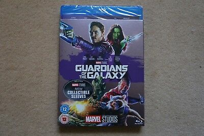 Blu-Ray Marvel Guardians Of The Galaxy ( With Slipsleeve ) New Uk Stock