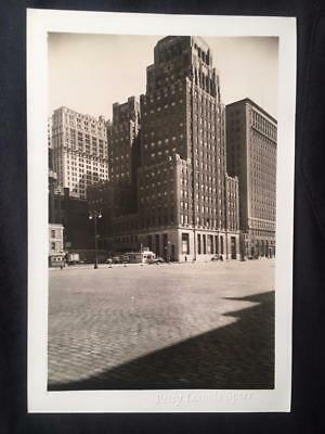 4/28/40 Carlisle & West St Lower Manhattan NYC Vintage Original Old Photo T193