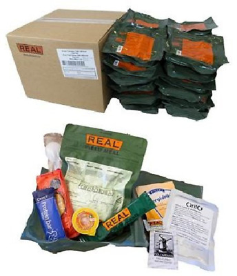 REAL Feldration Arctic Field Ration Notnahrung Armee Outdoor Survival 20 Pack