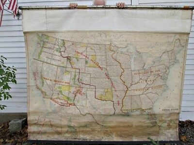 C 1900 MAP Showing Land Acquired by the United States 1783 to 1899 ...