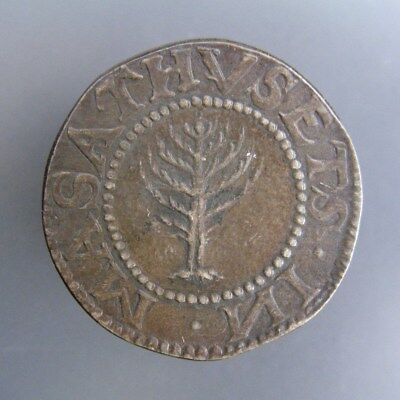 Vintage Massachusetts Pine Tree Shilling by International Sterling Co.