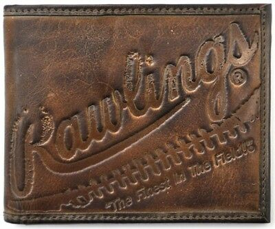 Rawlings Leather Goods Fielder's Choice Bifold Wallet - Brown