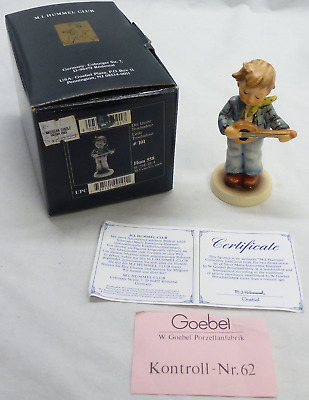 M.I. Hummel Club Figurine - #101, Little Troubadour HUM 558, Mint w/ Box & COA