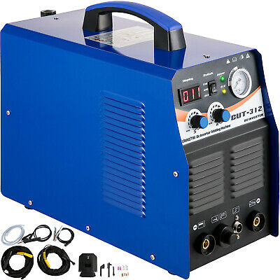 3 IN 1 Plasma cutter TIG / MMA Stick/ARC Torch Welder CT312 Blue Welding Machine