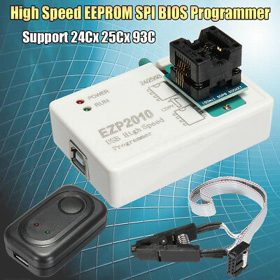 EZP2010 High Speed EEPROM + USB Cable SPI BIOS Programmer Support 24Cx 25Cx 93C