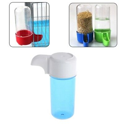 Automatic Bird Plastic Feeder Food Water Storage Parrot Cage Pet Drink Container