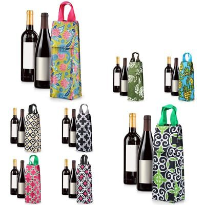 Thermal Insulated Lightweight Wine Bottle Tote Carry Bag for Party