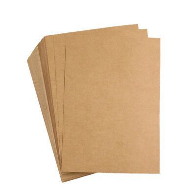 10 Sheets Vintage Kraft A5 Blank Drawing Writing Office Stationery Paper 21*15cm