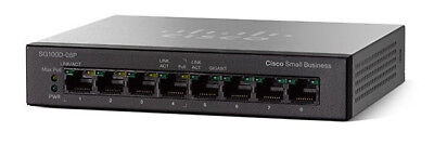Cisco Switch Small Business SG110D-08 8-Port Gigabit Switch