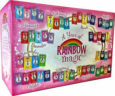 A Year of Rainbow Magic Boxed Collection 52 Books Ultimate Bedtime Reading NEW