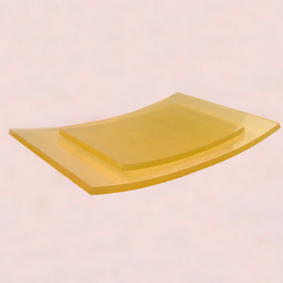 Polyurethane Elastic Rubber Sheet Damping Cushion Plate 200x140x8mm 300x200x8mm