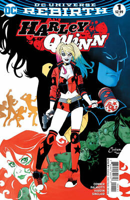 Harley Quinn #1 (Dc Rebirth 2016) Near Mint First Print Bagged And Boarded