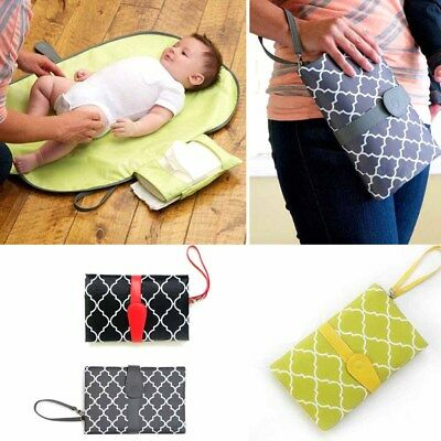 Foldable Baby Kid Changing Mat Pad Cover Change Nappy Bag Travel Pocket