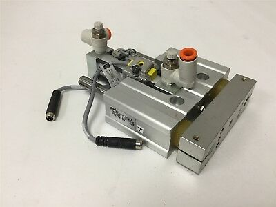 """PHD SDC22X11/2-BR-E Pneumatic Cylinder, Stroke: 1.5"""", Bore: 3/4"""", With Sensors"""