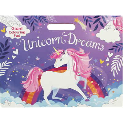 Unicorn Giant Colouring Pad by Parragon Books Ltd, Children's Books, Brand New