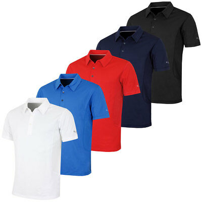 Puma Golf Mens Tech Cresting DryCell Ventilated Polo Shirt