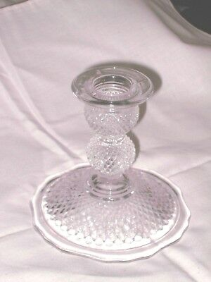Beautiful pressed glass candleholder