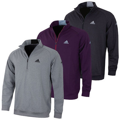 Adidas Golf 2017 Mens Club 1/2 Zip Chested Soft Stretch Pullover Sweater