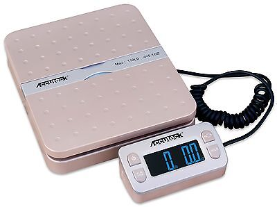 Accuteck ShipPro W-8580 110lbs x 0.1 oz Gold Digital shipping postal scale