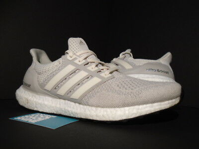 a6a9092fc Adidas Ultra Boost Ltd Tan Cream Chalk Off-White Beige Black Nmd R1 Aq5559  10.5