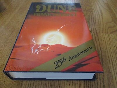 Dune by Frank Herbert 25th Anniversary Edition 1984 HC Hardcover