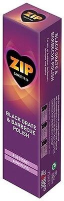 6 x Zip Black Grate and Barbecue Polish Cast Iron Cleaner and Restorer 75ml