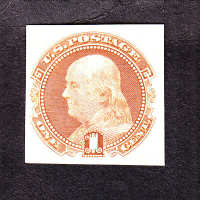 US 112P3 1c Franklin Proof on India Paper VF (002) SCV $55