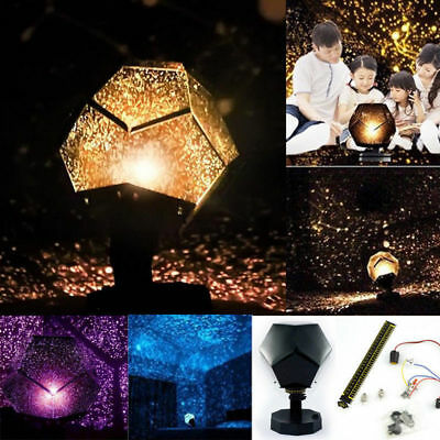 Celestial Star Cosmos Night Lamp Night Lights Projection Projector Starry Sky BK