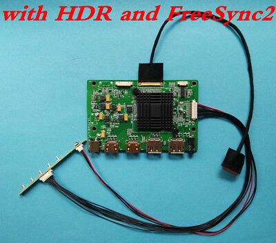 4K HDMI+DP Board for 17.3inch 3840x2160 LCD B173ZAN01.0 B173ZAN01.1 LQ173D1JW31