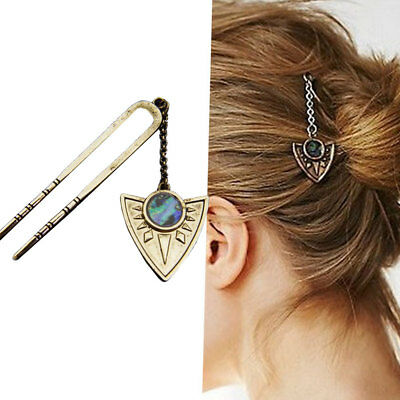 Forcina Triangle forcine spillone fermaglio accessori acconciatura capelli donna