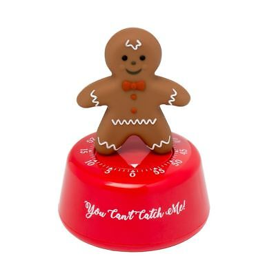 Eddingtons Gingerbread Man Kitchen Timer Cooking Preparation Festive Fun Home