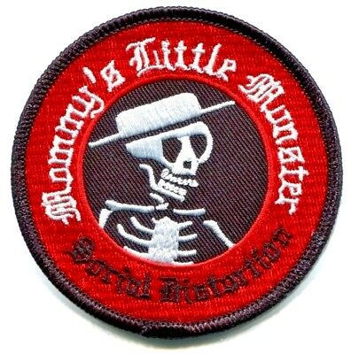 SOCIAL DISTORTION mommy's little monster EMBROIDERED IRON-ON PATCH p-0725