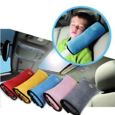 Car Safety Seat Belt Pillow Kids Shoulder Strap Pad Head Supports Cushions LC