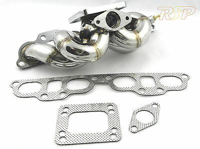 200sx S14 S15 Stainless Steel T3 T4 Top Mount Turbo Conversion Exhaust Manifold